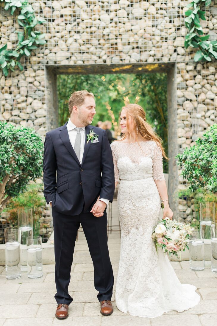 After attending her sister's spring wedding at Planterra in West Bloomfield, bride-to-be Melissa Solarz immediately fell in love with the lush conserv