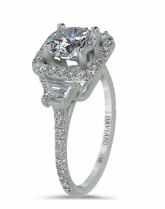 Daviani Love Links Collection DCR1017 Engagement Ring photo
