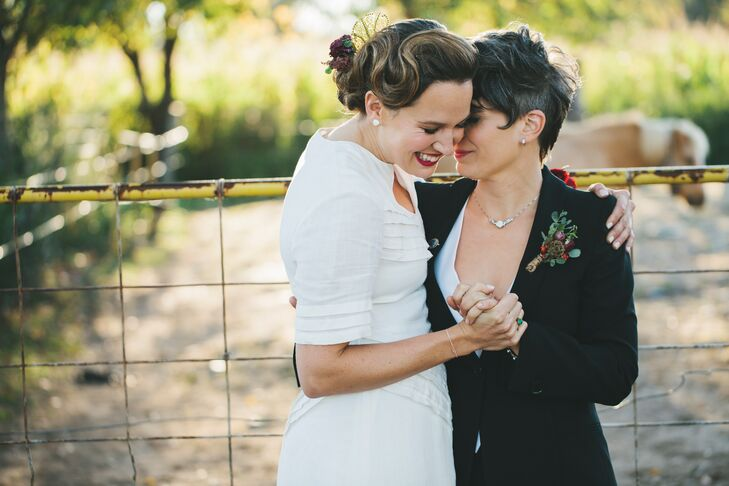 A Vibrant Vintage Wedding At Queens County Farm Museum In Glen Oaks New York