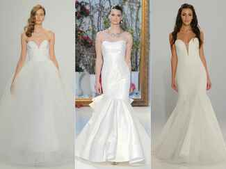 Classic wedding dresses from Bridal Fashion Week
