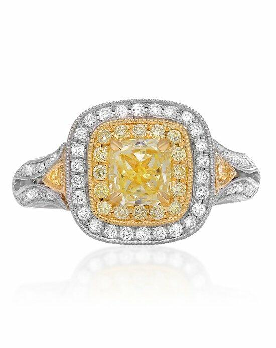Roman + Jules KR5544WY-18K-3 Engagement Ring photo