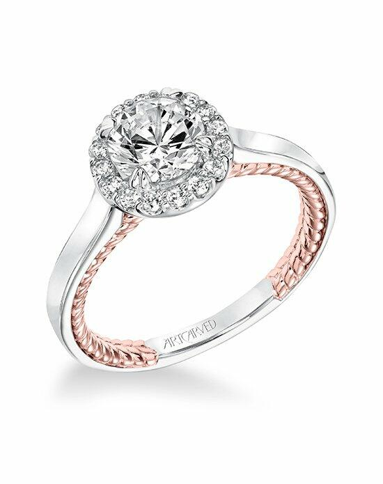 ArtCarved 31-V673ERR-E Engagement Ring photo