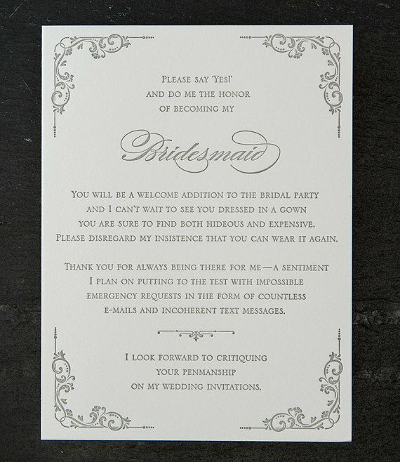 Our favorite will you be my bridesmaid cards sapling press bridesmaid proposal card stopboris