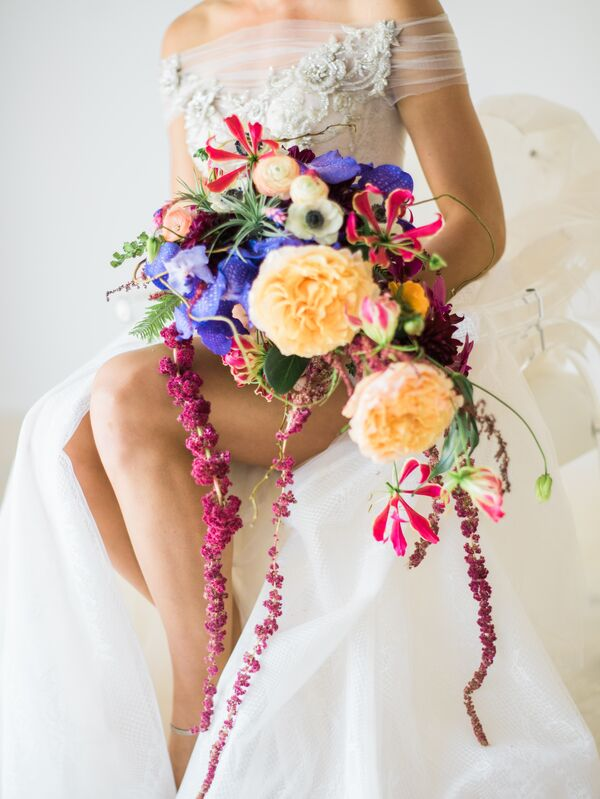 Tropical Wedding Flower Arrangements