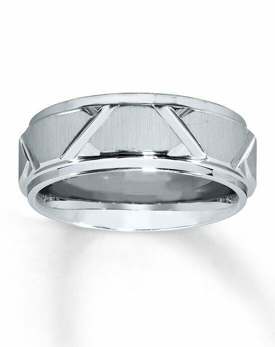 Kay Jewelers White Tungsten Carbide 8mm Wedding Band-252106000 Wedding Ring photo