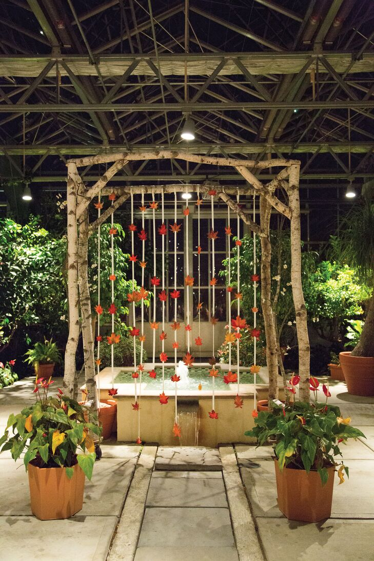 A Modern Fall Wedding At The Roger Williams Botanical Garden And Greenhouse In Providence Rhode