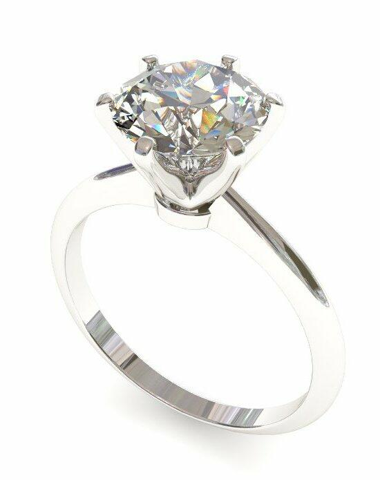 Enchanted Diamonds Six-Prong Knife Edge Solitaire SL5-4W-R Engagement Ring photo