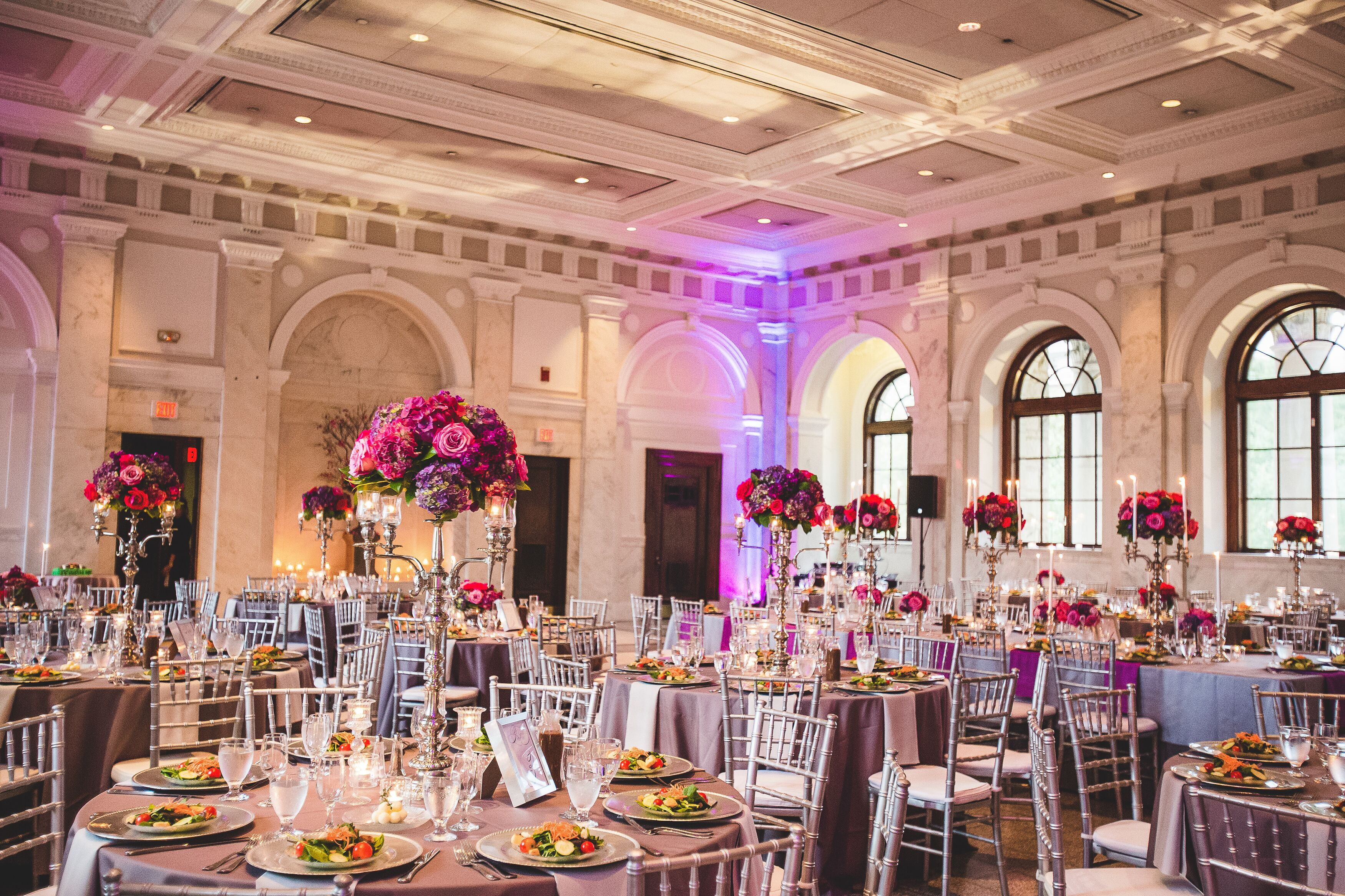 Regal Downton Abbey-Inspired Reception
