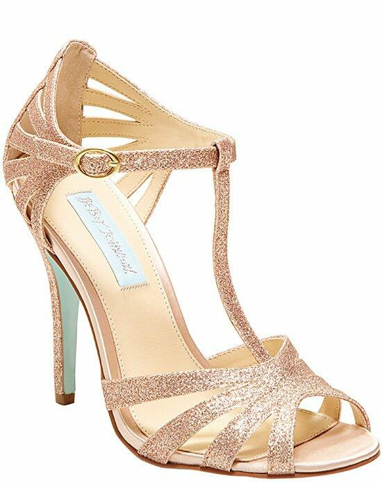 Blue by Betsey Johnson SB-TEE Champagn Wedding Shoes photo