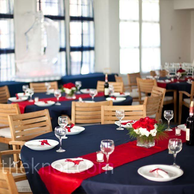 Nautical Wedding Decoration Ideas: Nautical Reception Décor