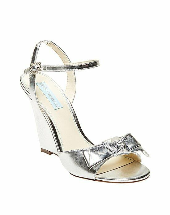 Blue by Betsey Johnson SB-Daisy- Silver Wedding Shoes photo