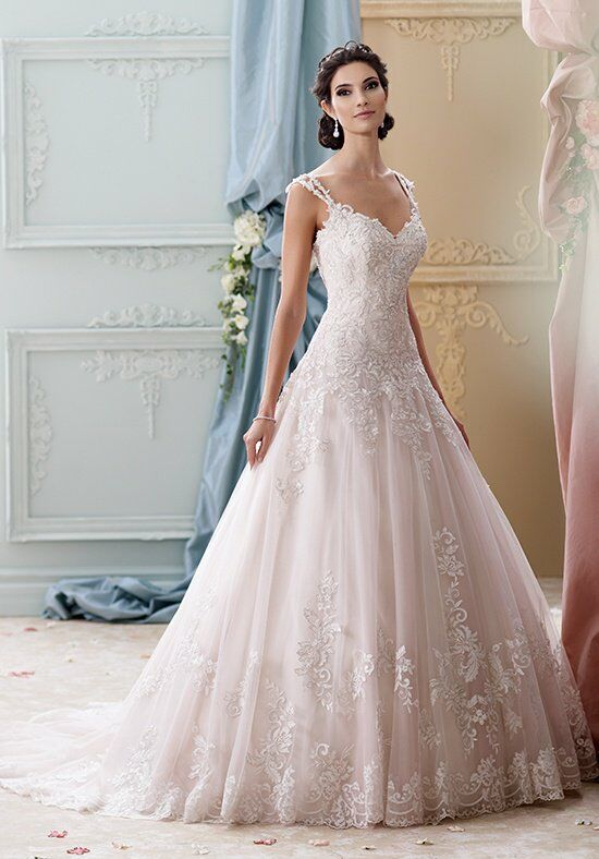 David Tutera for Mon Cheri 215277 - Arwen Wedding Dress photo
