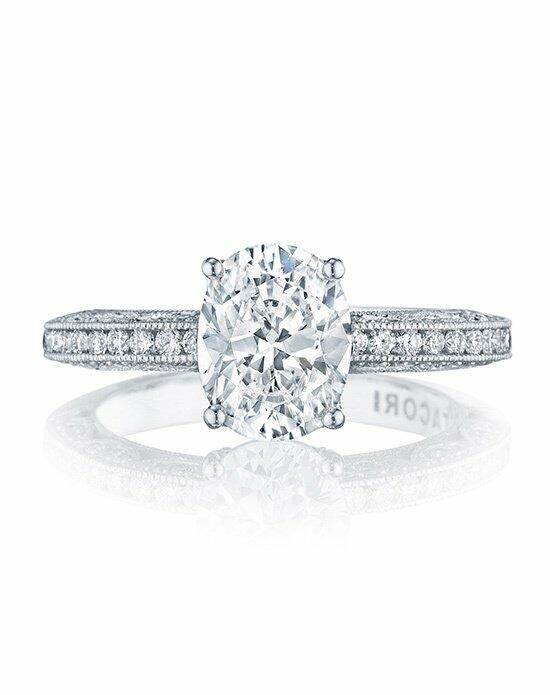 Tacori HT 2553 OV 9X7 Engagement Ring photo