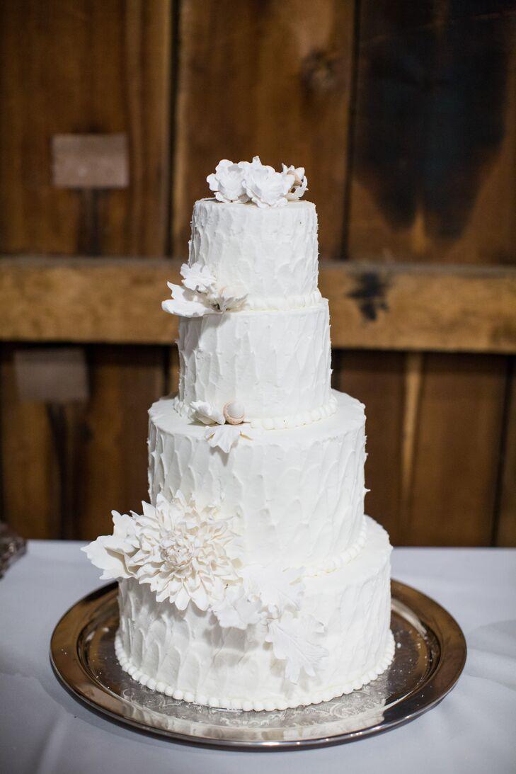 Ivory Wedding Cake, Cake Flowers
