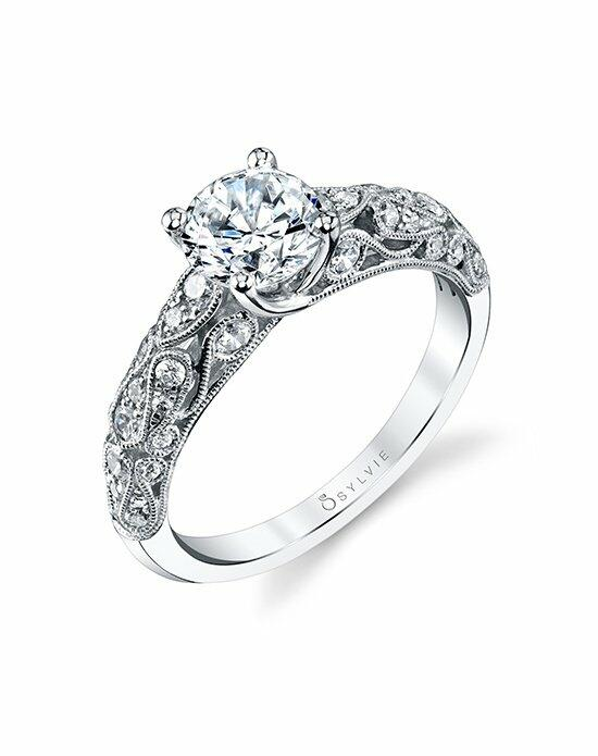 Sylvie Collection S1239 Engagement Ring photo