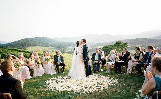 Romantic Virginia Mountain Wedding See the s
