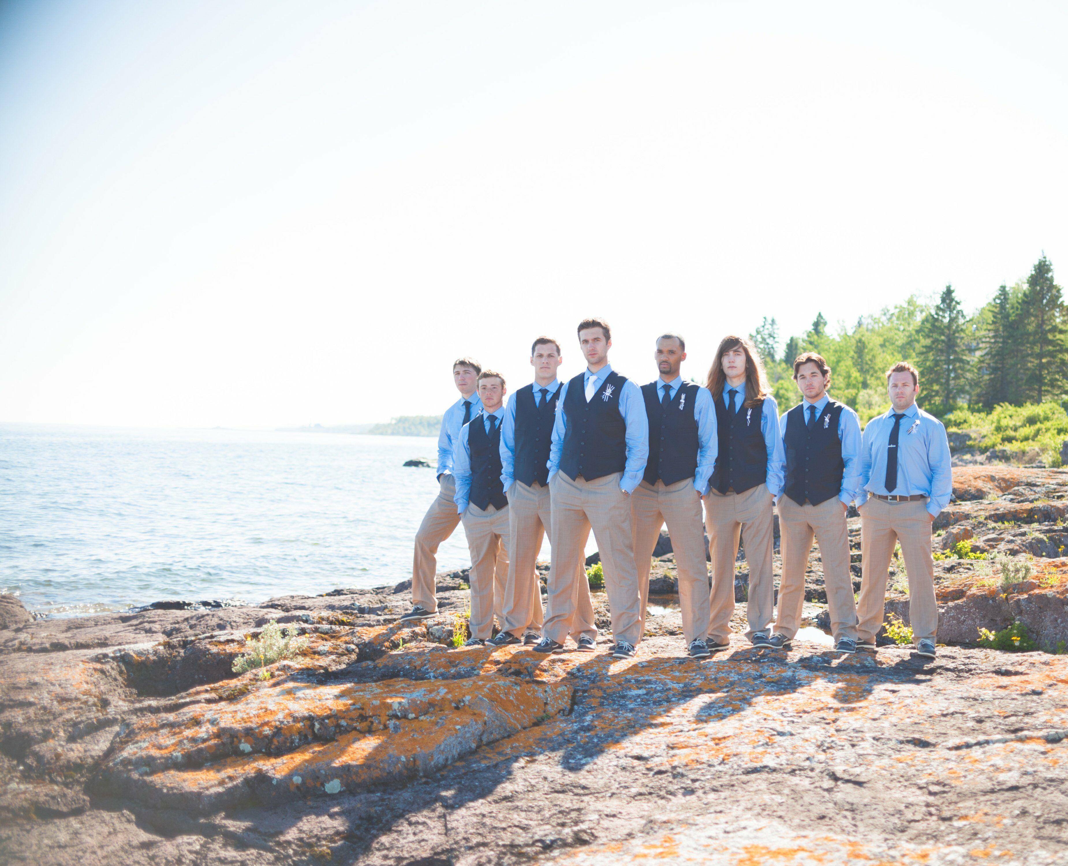 Nautical Men\'s Wedding Wear