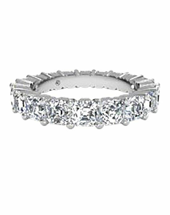 Ritani Women's Asscher-Cut Diamond Eternity Band in 18kt White Gold (4.25 CTW) Wedding Ring photo