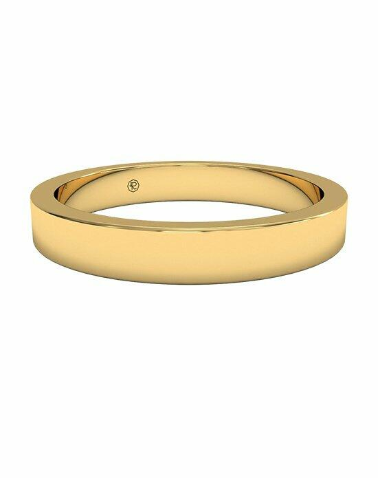 Ritani Women's Classic Square-Edge Wedding Band in 18kt Yellow Gold Wedding Ring photo