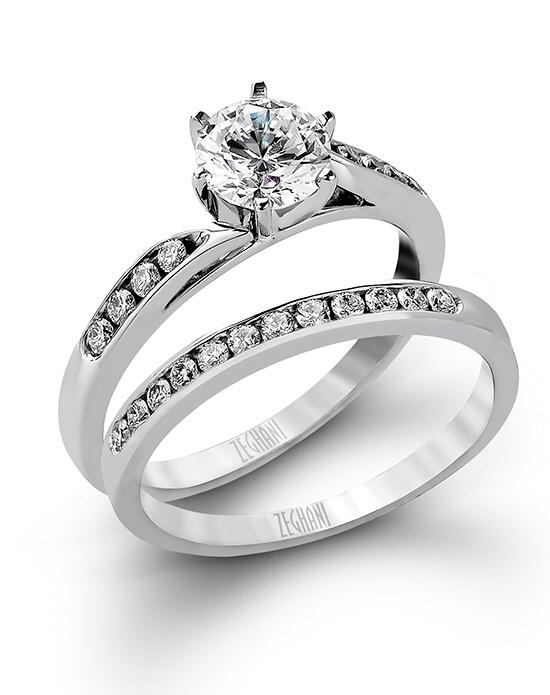 Zeghani ZR416 Engagement Ring photo