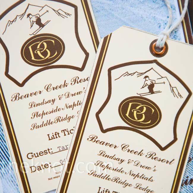 Ski Lift Invitations