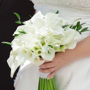 DIY Calla Lily Wedding Flower Arrangements