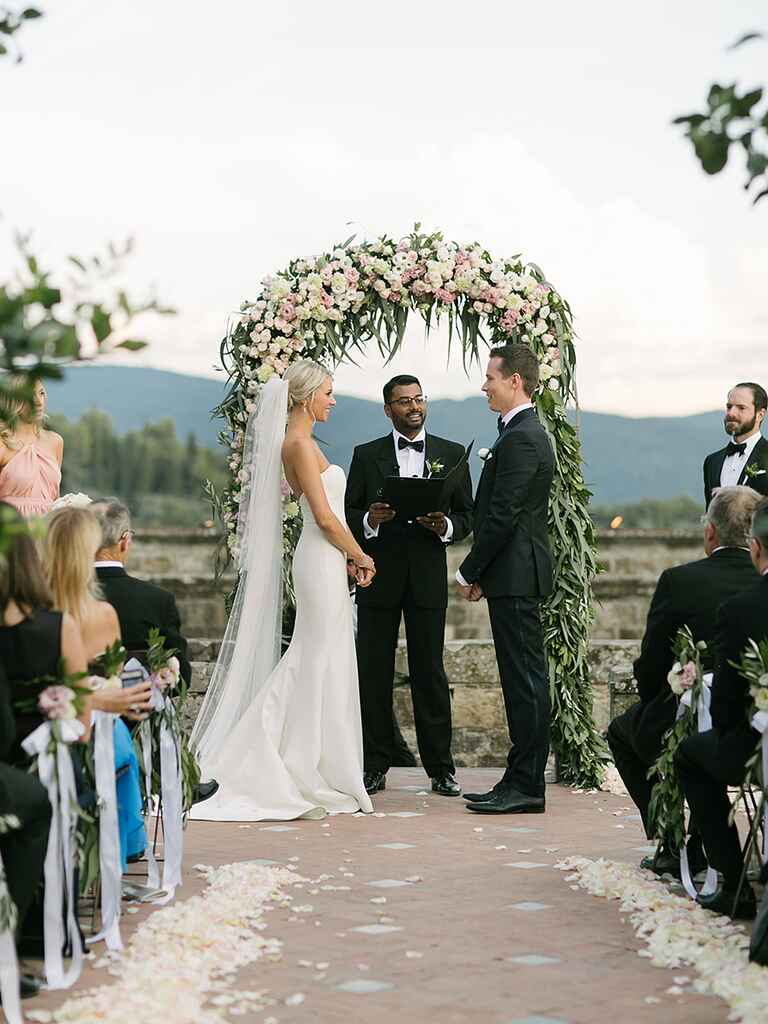 Ceremony tips for the couple and guest seating
