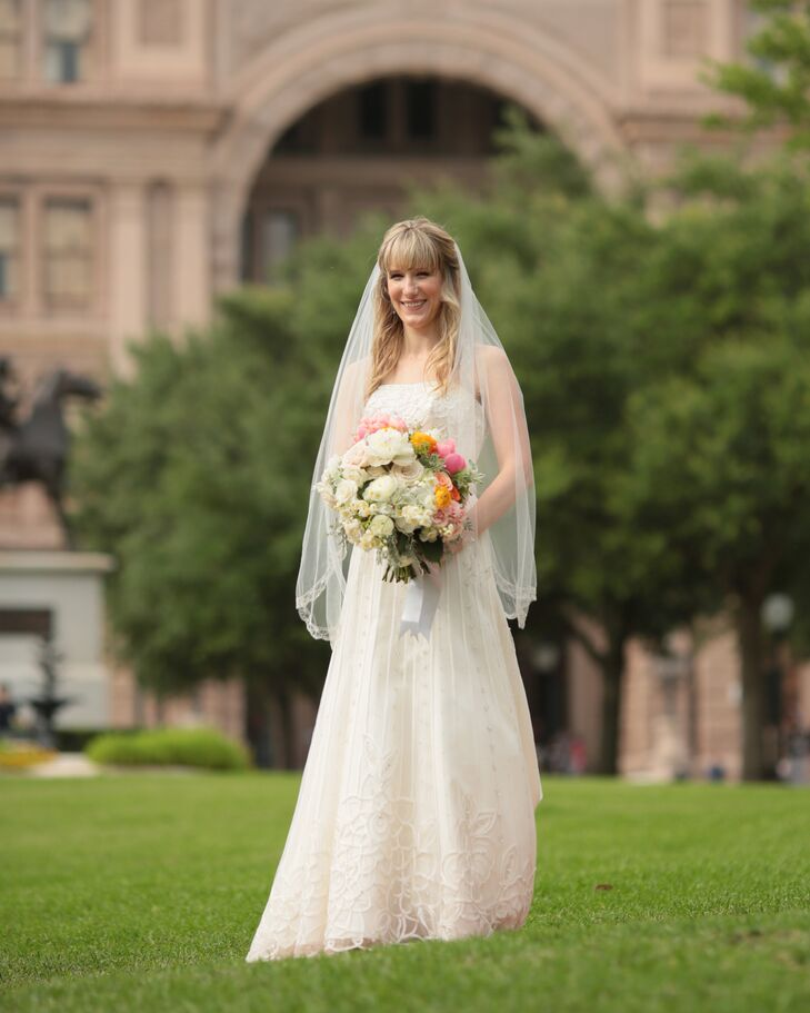 Bohemian Wedding Dress for Austin, Texas Bride