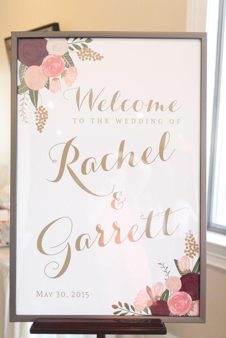 Frame Wedding Poster