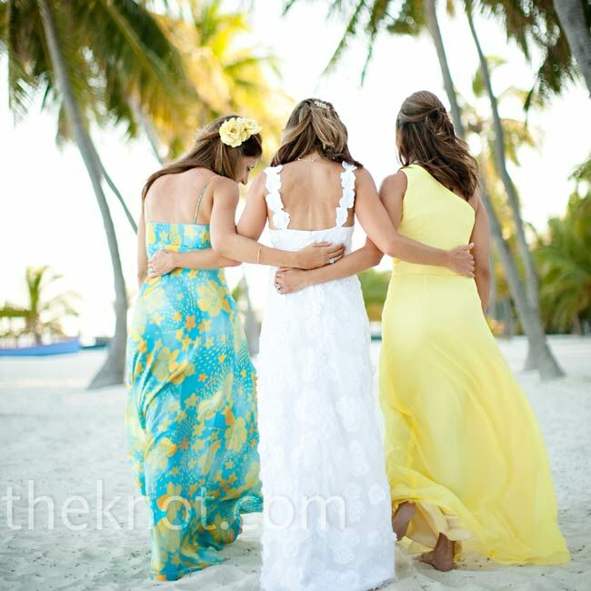 Tropical bridesmaid dresses for Wedding dresses for tropical wedding