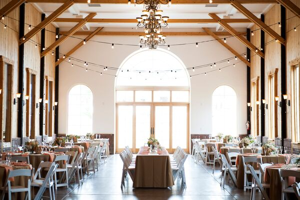 A Simple, Rustic Reception at Crooked Willow Farms