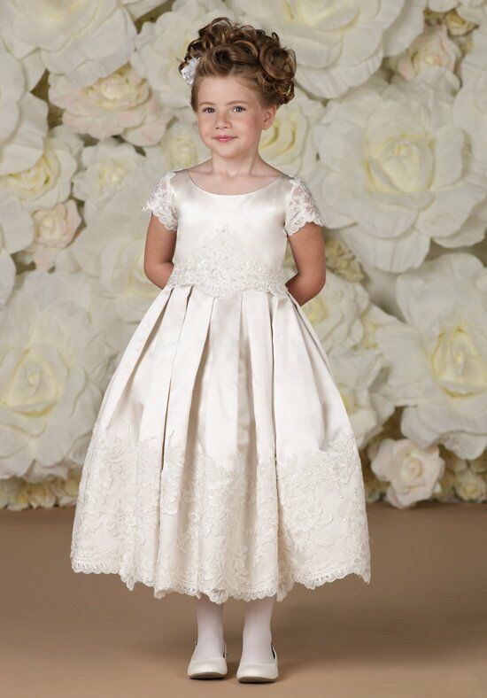 Joan Calabrese by Mon Cheri 113361 Flower Girl Dress photo