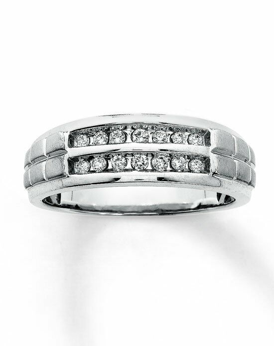 Kay Jewelers 10ky 1/4ct men's diamond ring-31117409 Wedding Ring photo