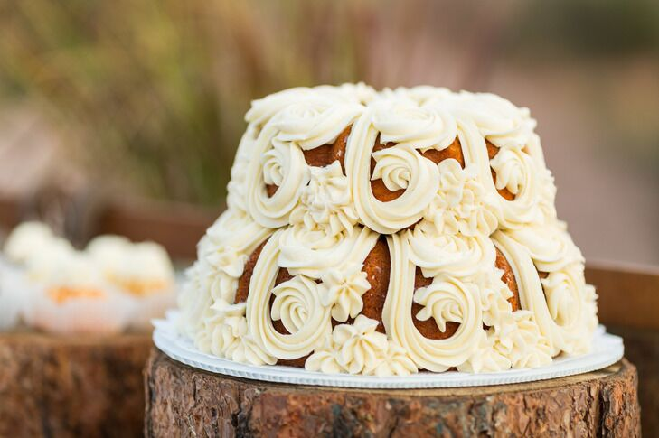 Personal Wedding Bundt Cake