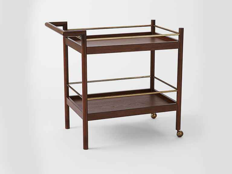 West Elm Mid-Century Bar Cart creative wedding gift