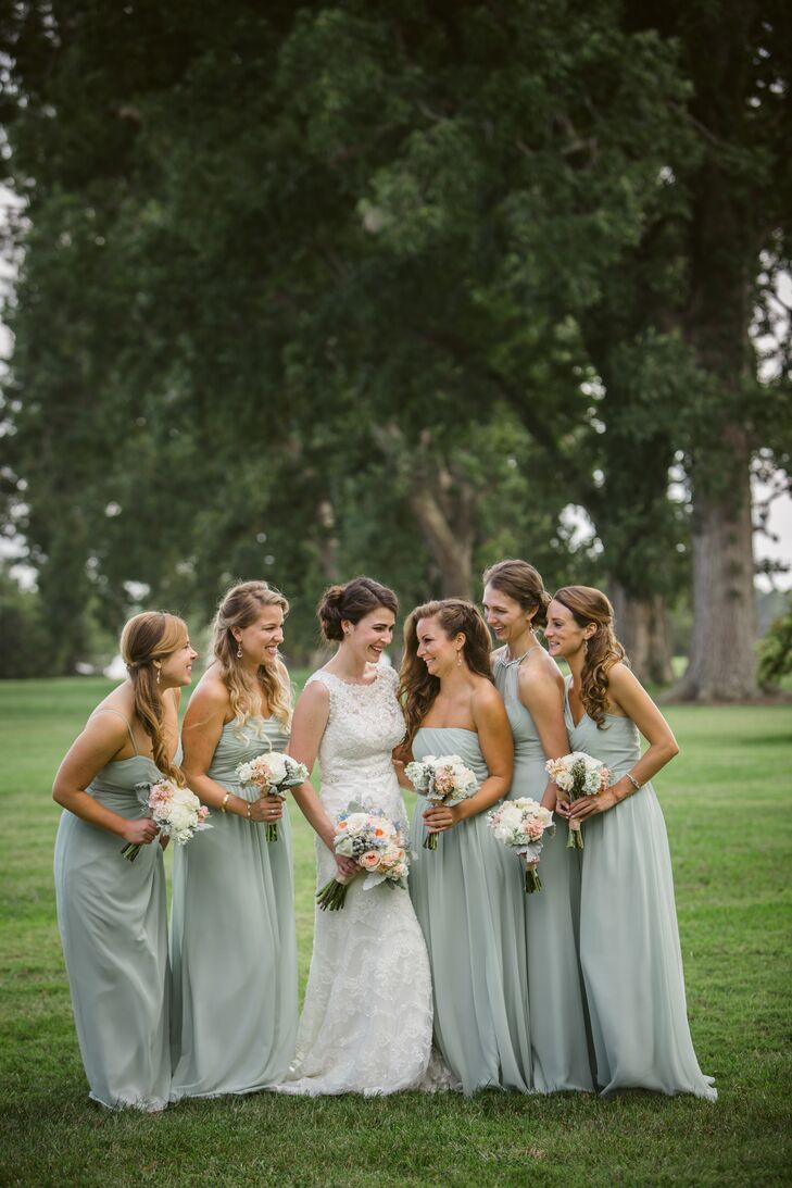Alfred Angelo Sage Bridesmaid Dresses