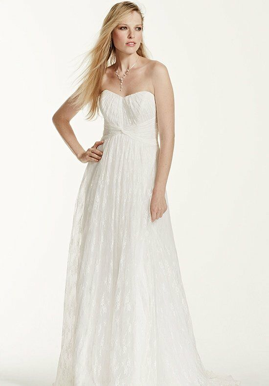 David's Bridal Galina Style KP3696 Wedding Dress photo