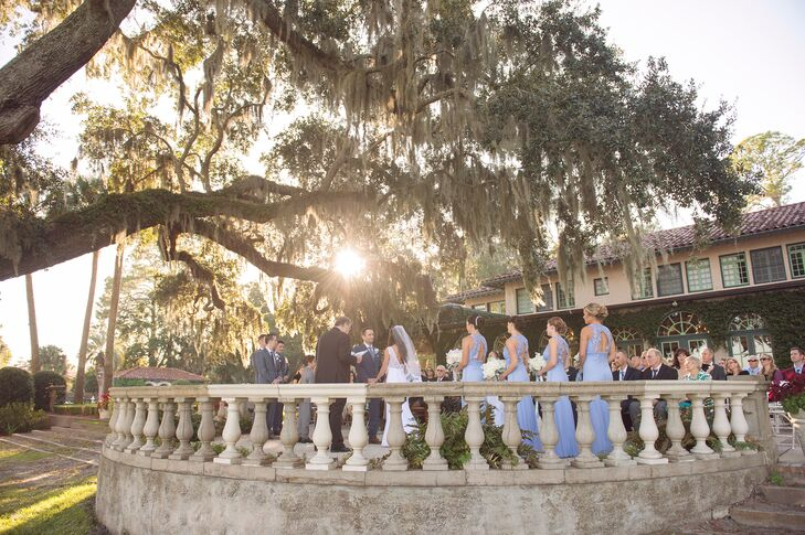 A Garden Wedding At The Club Continental In Jacksonville