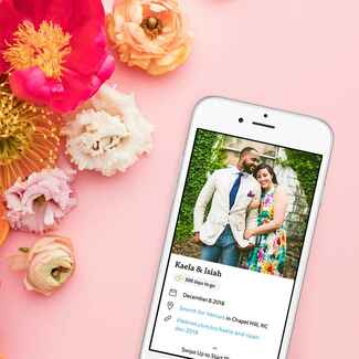 The Knot All-In-One Wedding Planner app