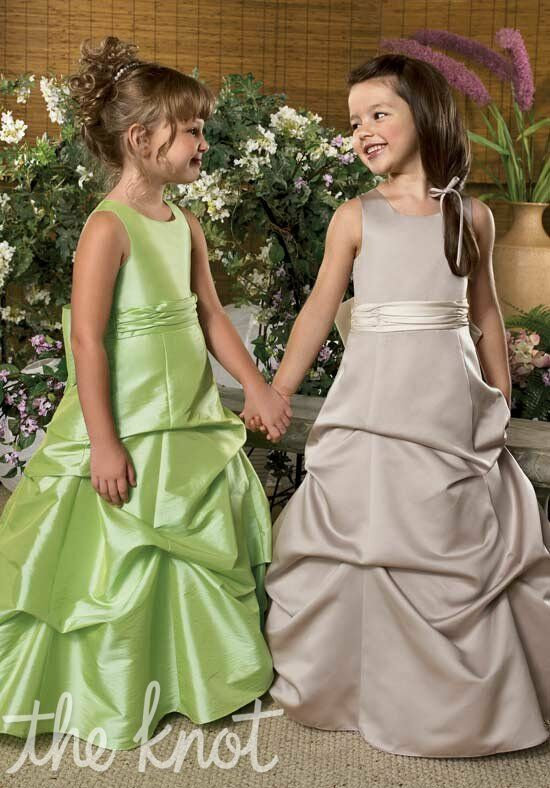 Sweet Beginnings L820 and L823 Flower Girl Dress photo