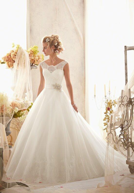Mori Lee by Madeline Gardner 2607 Wedding Dress photo