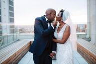 This was such a beautiful, colorful wedding, surrounded by stunning views of gorgeous, Kansas City MO! ?Sonni and Amkhoye flawlessly used bold colors