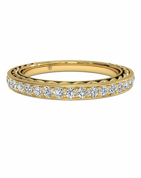 Ritani Women's Micropavé Diamond Braided Wedding Band in 18kt Yellow Gold (0.32 CTW) Wedding Ring photo
