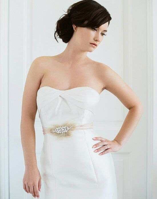 Sara Gabriel Florence Sash Wedding Accessory photo