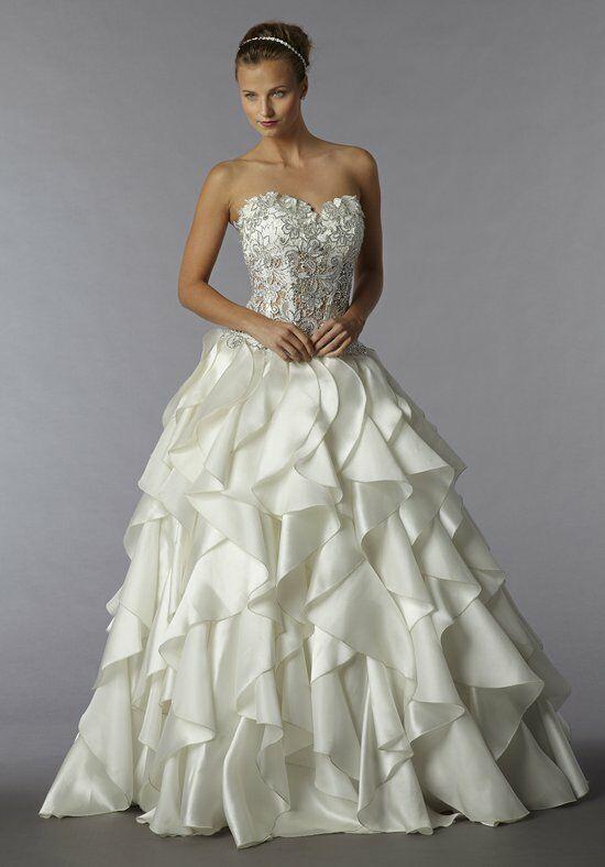 Pnina tornai for kleinfeld 4225 wedding dress the knot for Pnina tornai wedding dress cost