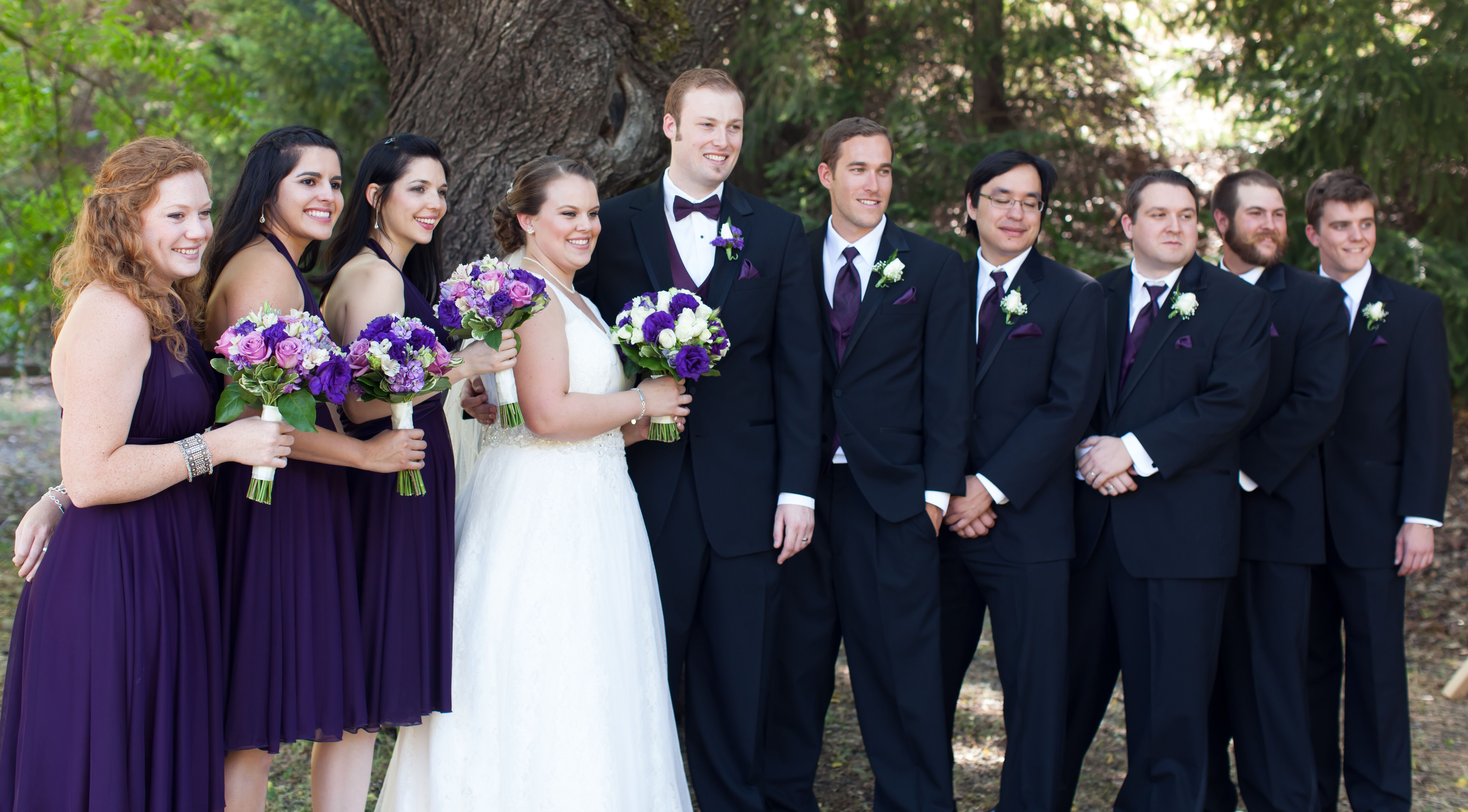 Black And Purple Wedding Party Attire,Plus Size Wedding Dress Short Length