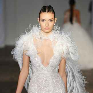 Berta Spring/Summer 2019 Collection: Bridal Fashion Week Photos
