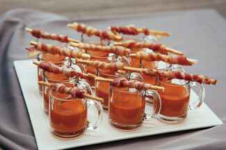 Fun Winter Foods For Your Wedding