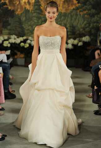 Anne Barge Spring 2015 wedding dress | MCV Photo | The Knot blog
