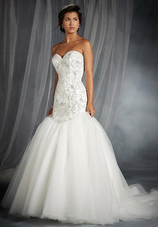 Disney fairy tale weddings by alfred angelo 249 wedding for Disney mermaid wedding dress